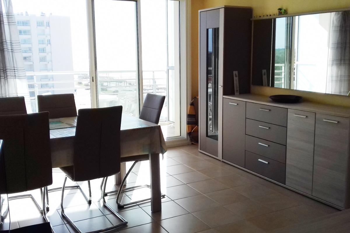 Séjour - Location vacances Appartement 1 chambre à Saint Jean de Monts  - Location de vacances - Saint Jean de Monts