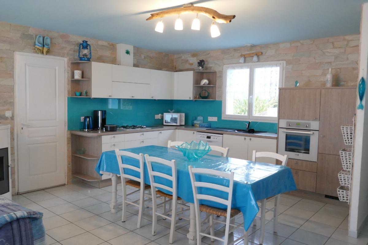 La partie salon - Location de vacances - L'Ile d'Olonne