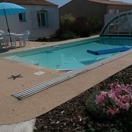 piscine découverte - Location de vacances - L'Ile d'Olonne