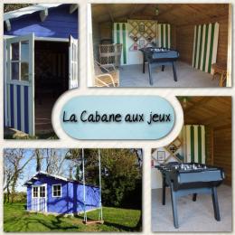 La Cabane aux jeux - Location de vacances - Saint Gervais