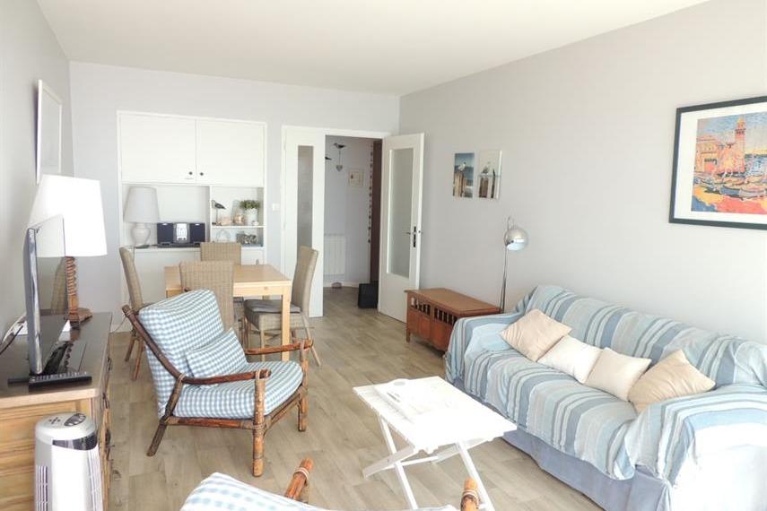 le séjour - salon  - Location de vacances - Les Sables-d'Olonne