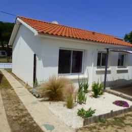 Devanture de la maison - Location de vacances - Saint Hilaire de Riez