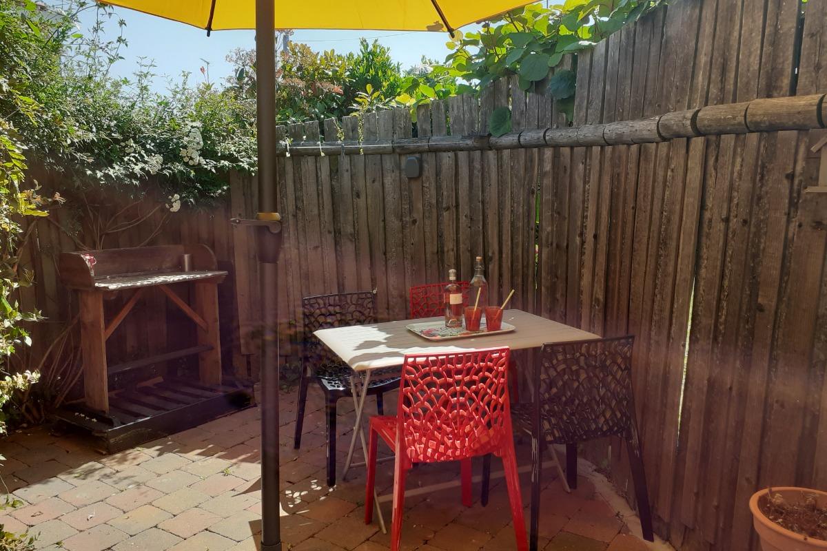 terrasse avant - Location de vacances - Saint Gilles Croix de Vie