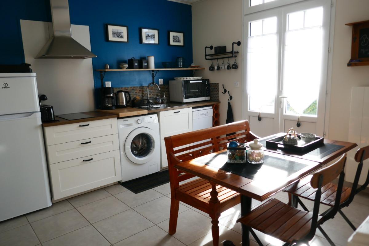Coin cuisine-salle à manger - Location de vacances - Saint Gilles Croix de Vie