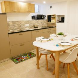 Cuisine en souplex - Location de vacances - Les Sables-d'Olonne