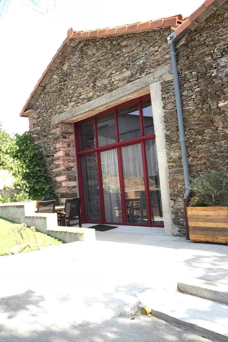 façade gite - Location de vacances - La Tardière