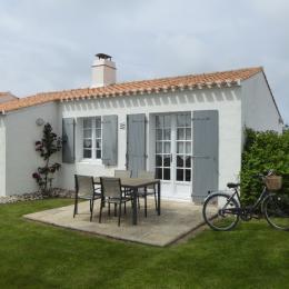 Façade maison exposée sud  - Location de vacances - Noirmoutier en l'Île