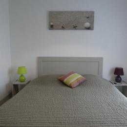 chambre avec lit 160 - Location de vacances - Noirmoutier en l'Île