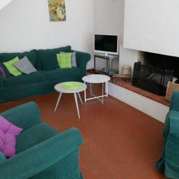 Le salon/séjour - Location de vacances - Saint Hilaire de Riez