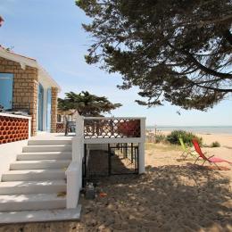 Maison donnant sur la plage - Location de vacances - La Tranche sur Mer