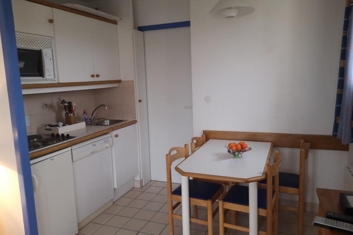 Séjour/coin cuisine - Location de vacances - Talmont Saint Hilaire