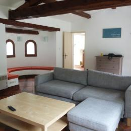 Salon - Location de vacances - La Guérinière