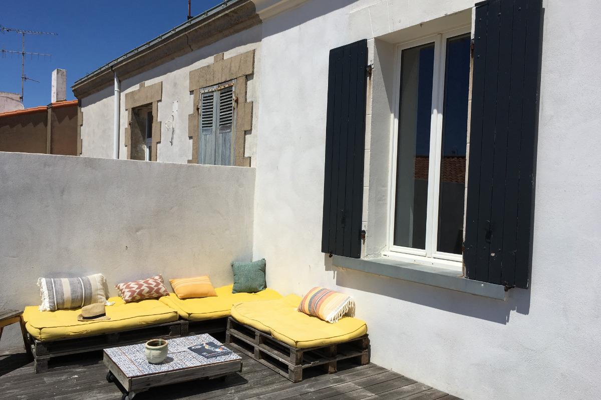 Salon - Location de vacances - Saint Gilles Croix de Vie