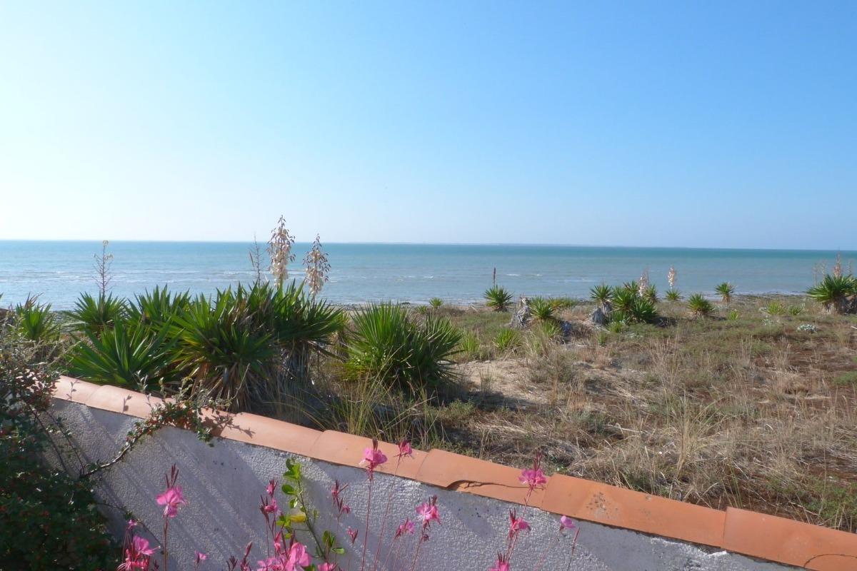 Vue mer depuis la terrasse - Location de vacances - La Tranche sur Mer