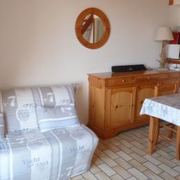 Coin salon / salle à manger - Location de vacances - La Tranche sur Mer