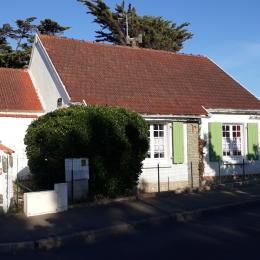 Façade de la maison - Location de vacances - La Faute-sur-Mer
