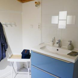 Salle de bain - Chambre d'hôtes - Mareuil sur Lay Dissais
