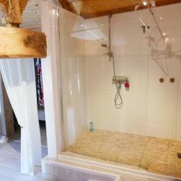 Salle d'eau - Chambre d'hôtes - Mareuil sur Lay Dissais