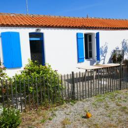 Devanture de la maison - Location de vacances - Noirmoutier en l'Île