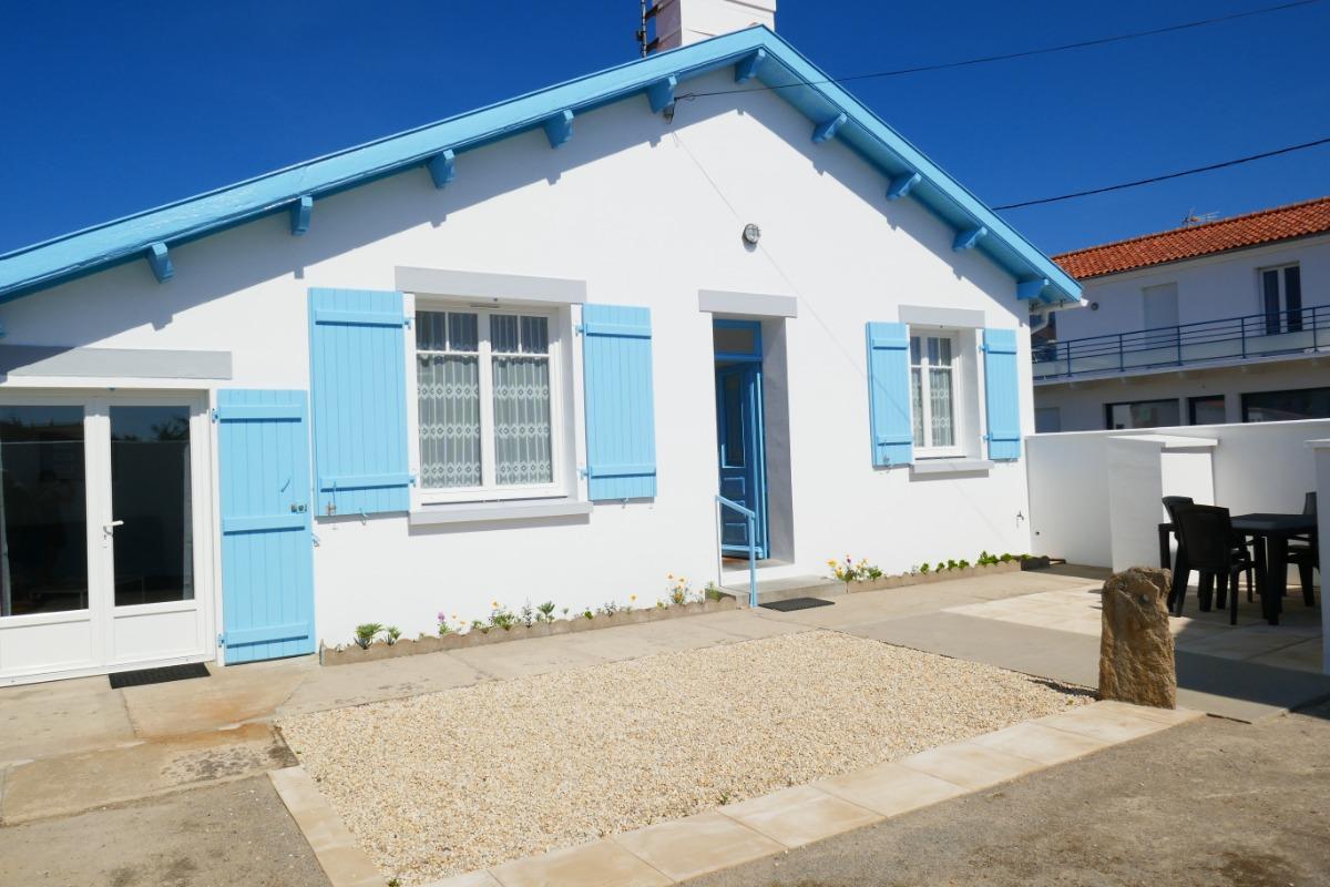 Façade avant - Location de vacances - Noirmoutier en l'Île