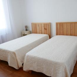 Chambre 2 lits en 90 - Location de vacances - Noirmoutier en l'Île