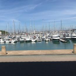 Vue sur le port des Sables depuis le studio - Location de vacances - Les Sables-d'Olonne