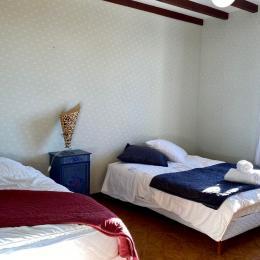 Chambre 2 - Location de vacances - Maillé