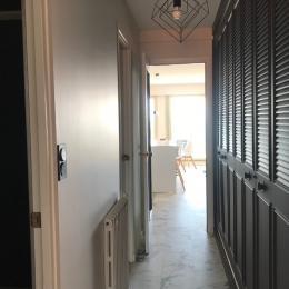 Couloir d'accès vers la partie nuit - Location de vacances - Les Sables-d'Olonne