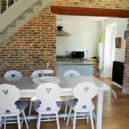 Cuisine ouverte sur la pièce de vie - Location de vacances - Saint Gilles Croix de Vie