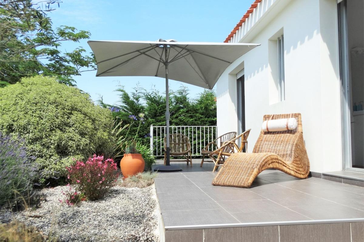 Terrasse ensoleillée - Location de vacances - Saint Hilaire de Riez