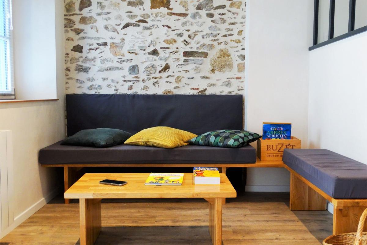 Coin salon/détente - Location de vacances - Saint Gilles Croix de Vie