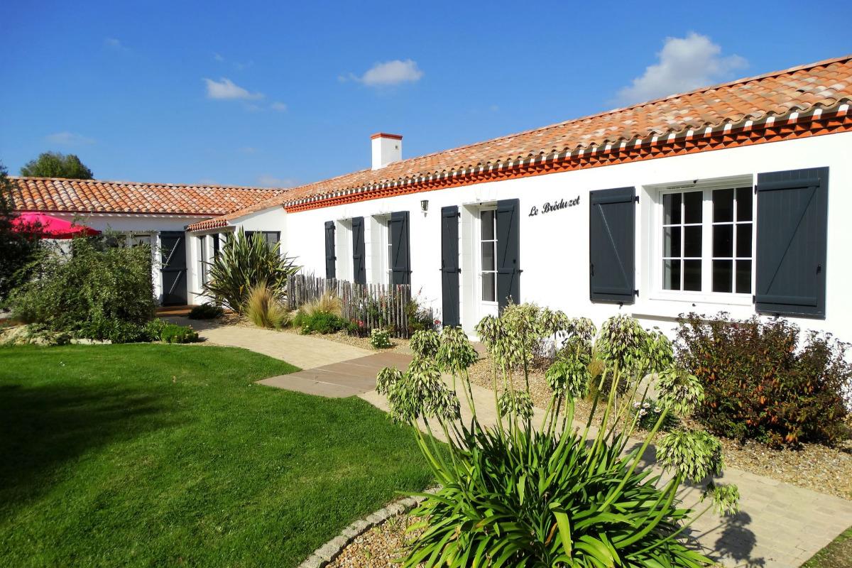 Maison avec piscine chauffée de mai à septembre - Location de vacances - Saint Hilaire de Riez