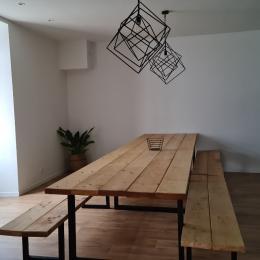 Cuisine/salle à manger - Location de vacances - Bournezeau