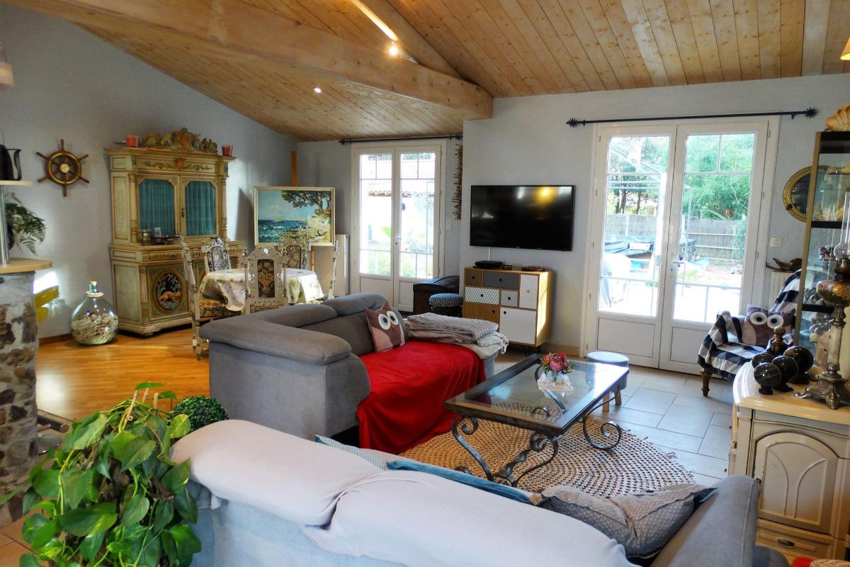 Salon/séjour - Location de vacances - Saint Hilaire de Riez