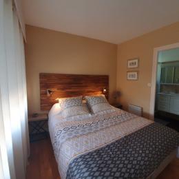 Chambre avec lit en 160 - Location de vacances - La Tranche sur Mer