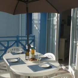 Le coin terrasse - Location de vacances - Talmont Saint Hilaire