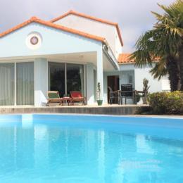 Villa avec piscine chauffée aux Sables d'Olonne - Location de vacances - Les Sables-d'Olonne