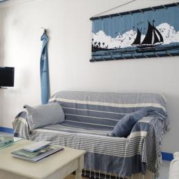 Cuisine ouverte sur séjour - Location de vacances - Saint Gilles Croix de Vie