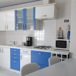 Cuisine avec espace repas - Location de vacances - Saint Gilles Croix de Vie
