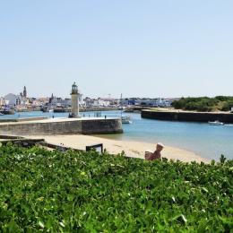 1er étage : Terrasse vue mer - Location de vacances - Saint Gilles Croix de Vie