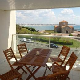 Terrasse avec vue - Location de vacances - Les Sables-d'Olonne
