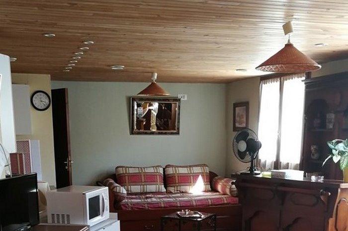 Vue studio vers espace salon - Location de vacances - Poitiers