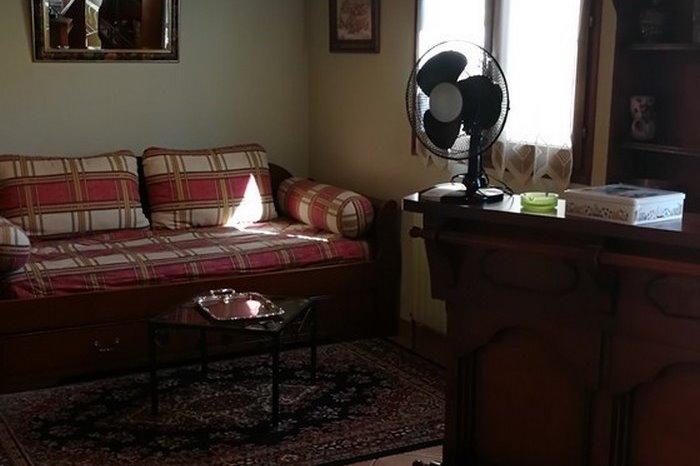 Vue salon - Location de vacances - Poitiers