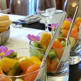 Un petit déjeuner gourmand et bio - Chambre d'hôtes - Poitiers