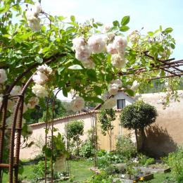 Le jardin pour un moment de détente - Chambre d'hôtes - Poitiers