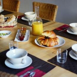 Le petit déjeuner - Chambre d'hôtes - Poitiers