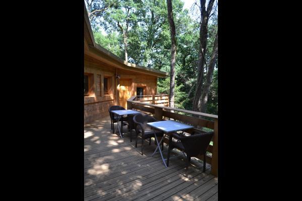 Lodge Cocoon - Terrasse - Location de vacances - Magné