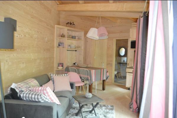 Lodge Cocoon - Séjour - Location de vacances - Magné