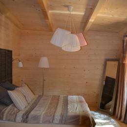 Lodge Cocoon - Chambre double - Location de vacances - Magné