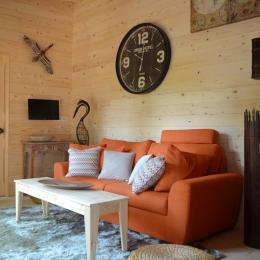 Lodge Evasion - Séjour - Location de vacances - Magné